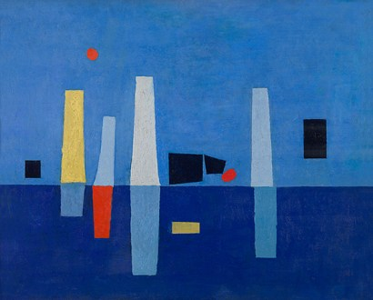 Marc Mendelson, Midzomer, (1954), KMSKA, inv. nr. 2824, Lukas - Art in Flanders, foto's Hugo Maertens