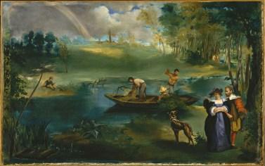Edouard Manet, De visvangst, The Metropolitan Museum of Art, New York