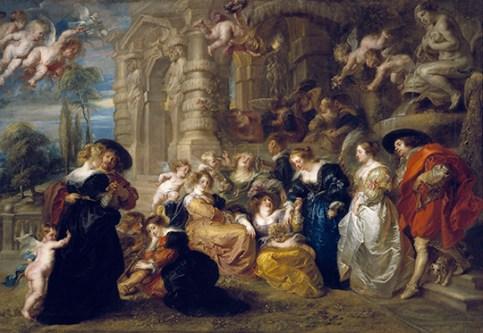Peter Paul Rubens, De liefdestuin, Museo Nacional del Prado, Madrid