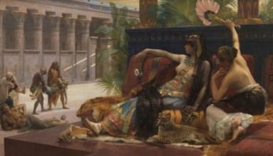 Alexandre Cabanel, Cleopatra laat gif proeven door ter dood veroordeelde gevangenen, KMSKA