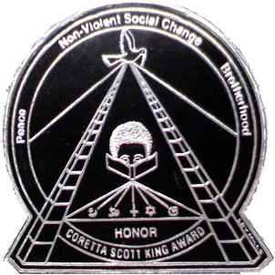 Image result for coretta scott king honor seal