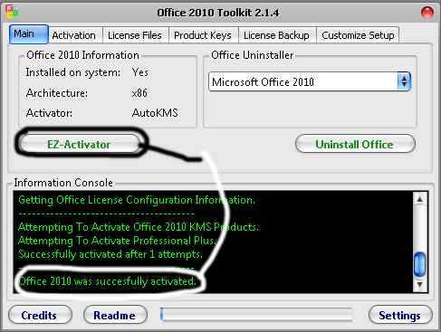 Office 2010 Toolkit + EZ-Activator Free Download