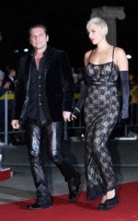 Miljenko Matijevic and Angela Salidis Walking Red Carpet At World Star's Ceremony 2014