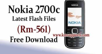 Nokia 2700c Flash File (RM-561) Free Download