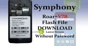 Download Symphony Roar v78 Flash File Full Free & 100% Tested