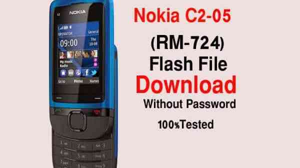 Nokia C2-05 RM-724 Flash File Download