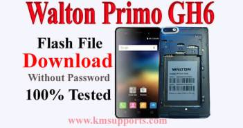 Walton Primo GH6 Flash File 100% Tested & Free [Firmware ROM]