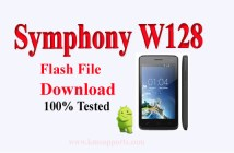 Symphony W128 Flash File Download With Guidelines