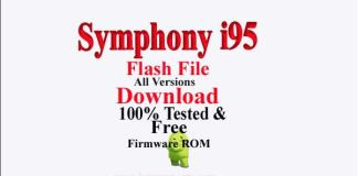 Symphony i95 Flash File Download Without Password| Get All Versions