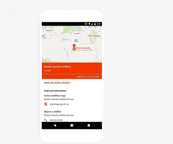 Google's newest feature is huge for disaster situations