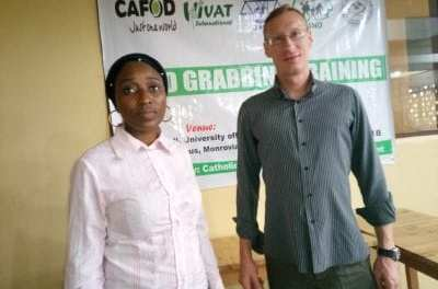 CAFOD intensified campaign for the passage of the land rights bill.  Host two days training on land Grabbing.