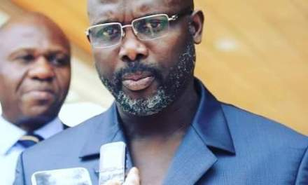 President Weah makes big promises, plans to provide online registration for UL students as four hundred light poles are expected to be installed at the Roberts International Airport Highway soon.