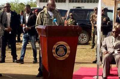 President George Weah fulfilled promise, breaks grounds for the first military hospital in Margibi County.