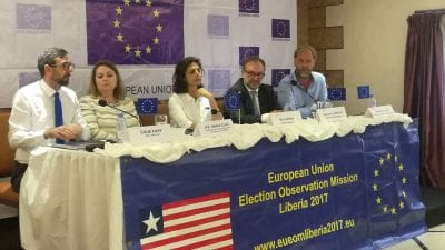 EU-EOM releases final report on Liberia's 2017 election, calls for more inclusive process.