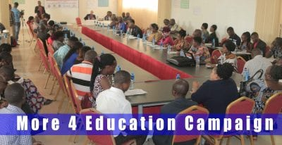 "The Launch Of ""More 4 Education Campaign"", By The Coalition Of 7 Civil Society Groups."