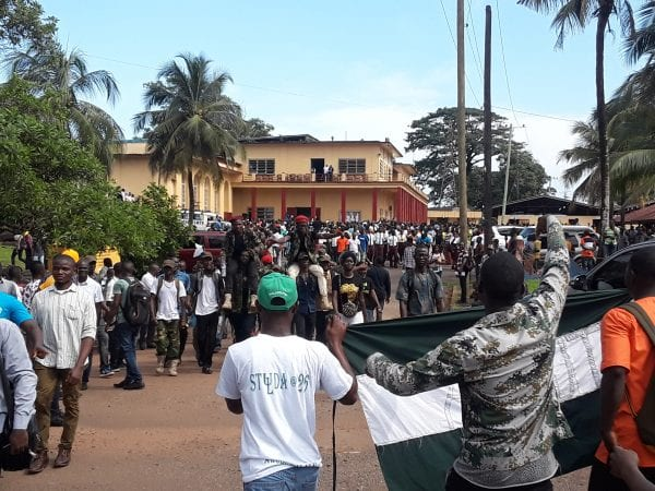 Liberian Students Jubilate As President Weah  Declares Free Tuition For All Public Tertiary Institutions Of Learning Across Liberia