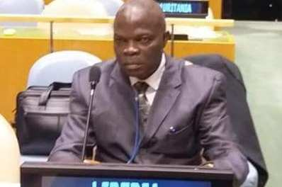 LISGIS Boss Francis Wreh Presents Liberia's Case and Rally Support For Liberia At The 50th Session Of The UN Statistical Commission ( STATCOM)