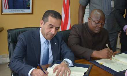 GoL And Kuwaiti Funds Sign $20 Million USD Loan Agreement For Konia-Voinjama Road Up-grade