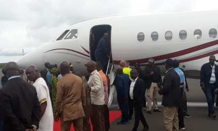 President Weah Departs Liberia To Attend The ECOWAS Heads Of States Meeting