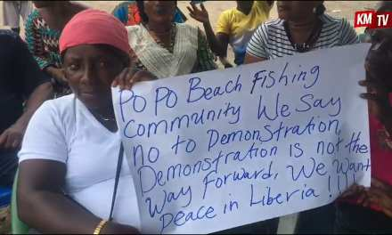 Liberia Fish Mongers Rebut June 7 Protest, says it has no future benefit