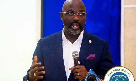 Stop Being Spokesman For The CDC, Weah Warns Government Officials