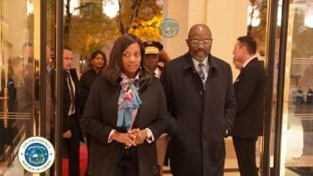 As Paris Peace Forum Kicks Off Pres. Weah Holds Bilateral, Multilateral Talks With Counterparts