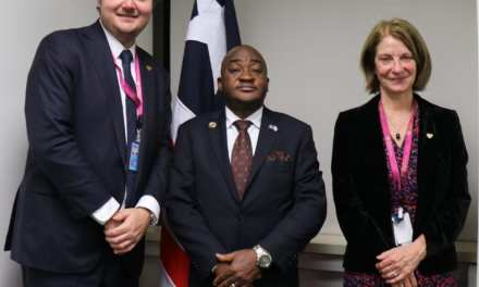 "In A Meeting With Norwegian ""Ambassador Kemayah seeks investments for Liberia's Agriculture and Fishery Sectors"