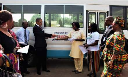 World Bank Donates Two Buses To A.M. Dogliotti College of Medicine Values;$US121,000.00