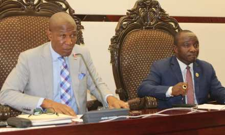 House Speaker Bhofal Chambers Outlines Achievements Of National Legislature