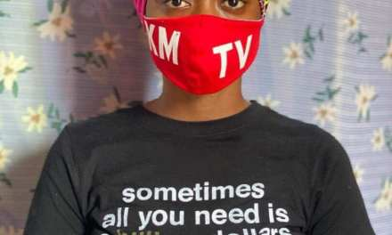 Liberia Initiative For Empowerment (LIFE)  Donates Printed Masks to KMTV, Calls On All to Remain Safe