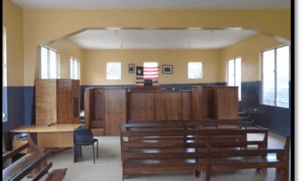 Grand Cape Mount: 5th Judicial Circuit Court Opens November Term of Court