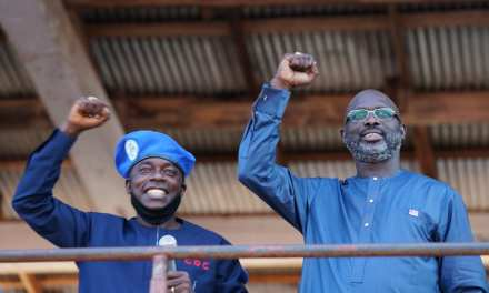 President Weah Endorses Senator Yallah's Re-Election in Bong County