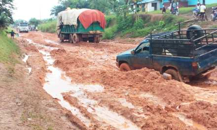 Residents of Ganta Outcry Bad Road Network