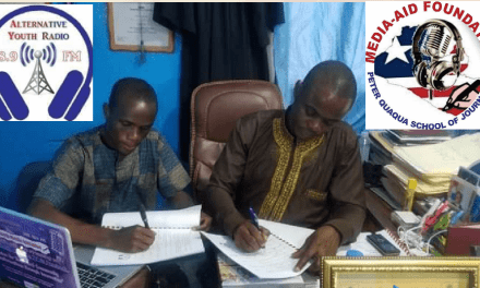 MediaAid Signs MOU For Training AYR Staffs In Zorzor, Lofa County