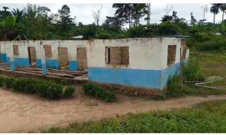 Nimba: Residents of Gbor-Dehvon Town Cry Out for the Renovation of the Only School in the Chiefdom