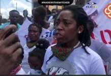 Protest for Justice Over Death of Little Francis Mensah