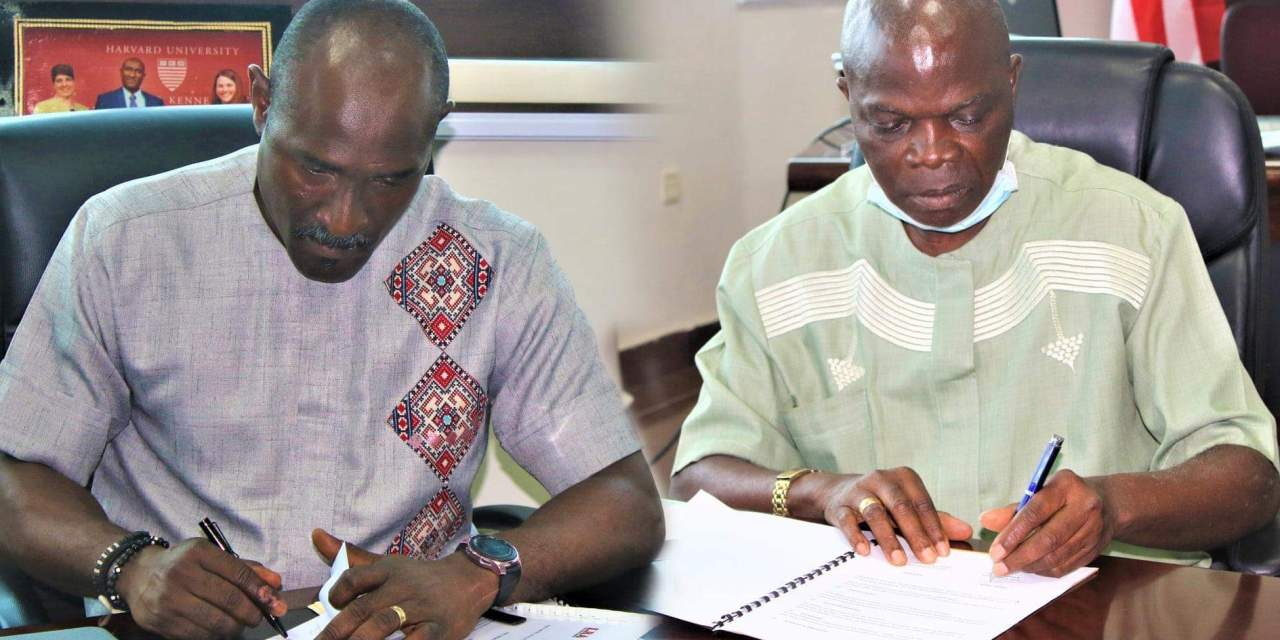 LRA-LISGIS Signs MoU to Promote Data Collection and Information Sharing