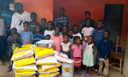 AYPRC, Partners Identifies With Orphans In Margibi County