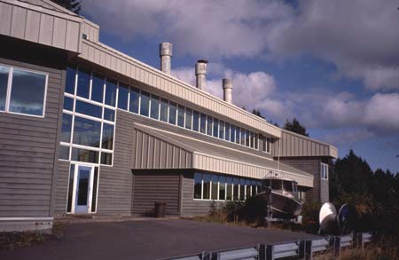 Kodiak Seafood and Marine Science Center. Photo Courtesy of University of Alaska