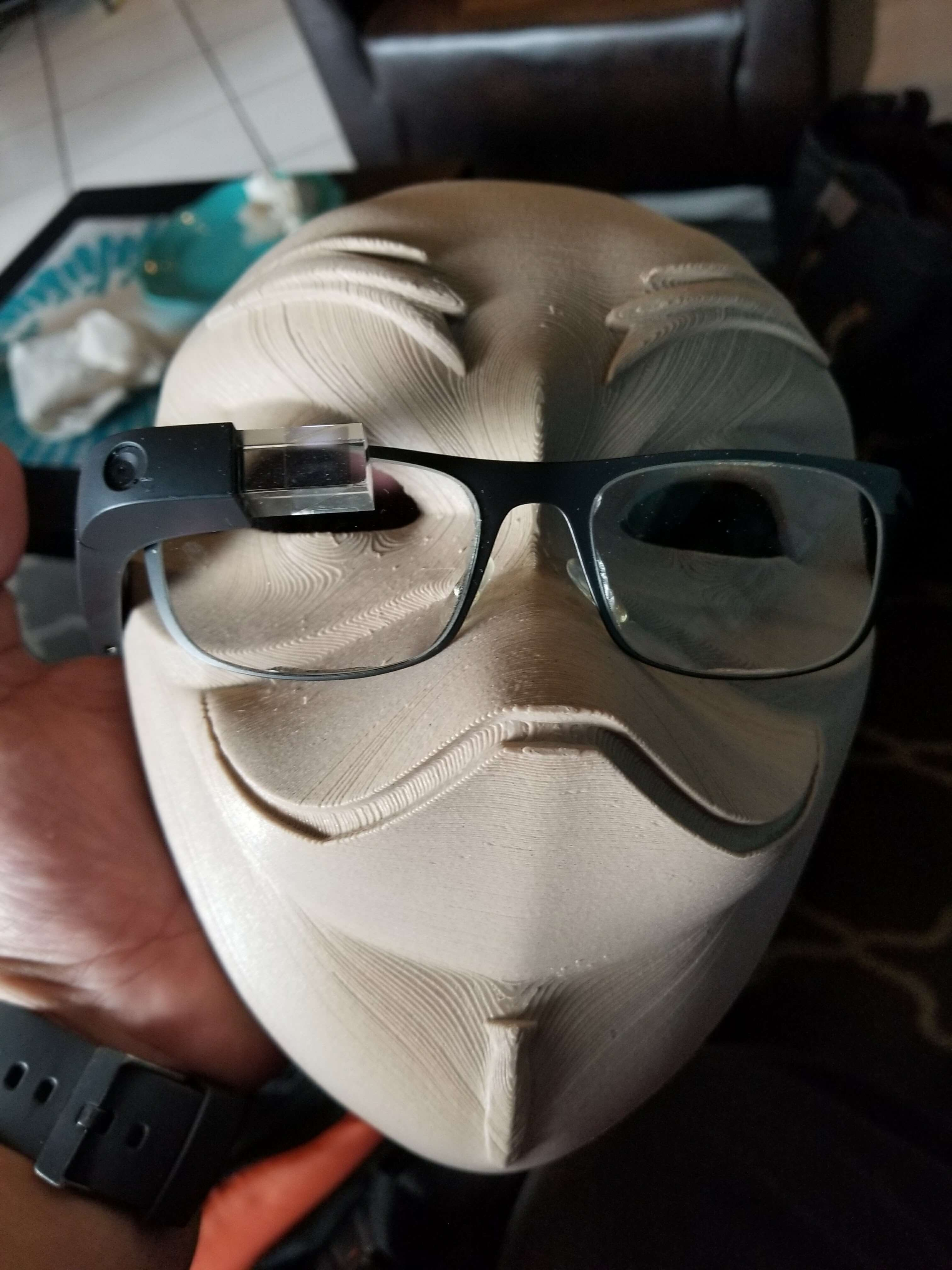 System76 GuyTux Mask Contest and 3D Print Timelapse