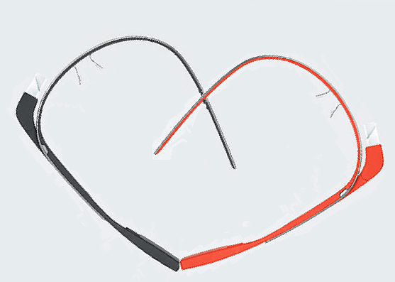 Happy Valentine's Day +Google Glass Team