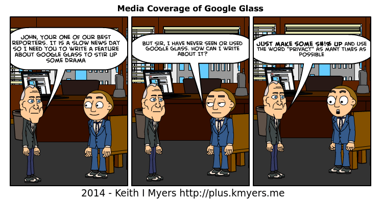 After reading a few more inaccurate or misleading Google Glass Articles, I feel that I must post this again.