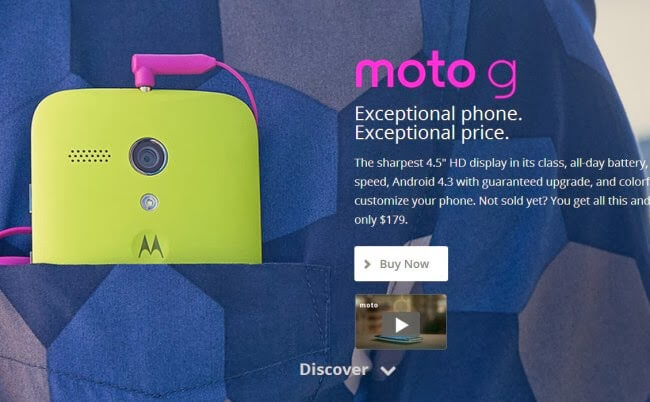 Motorola Now Selling the Moto G in The US; Starting at $179 and Shipping December 2nd |http://www.androidheadlines.com/2013/11/motorola-now-selling-moto-g-us-starting-179-shipping-december-2nd.html  #android  #motog  #motorola