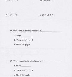 Slope Intercept Form Worksheets 8th Grade   Printable Worksheets and  Activities for Teachers [ 6462 x 5046 Pixel ]