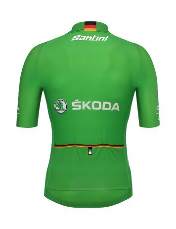SANTINI_Deutschland Tour2018_leader-jersey_green_rear