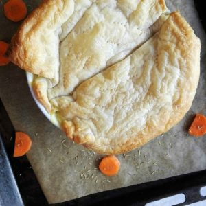 white bean pot pie
