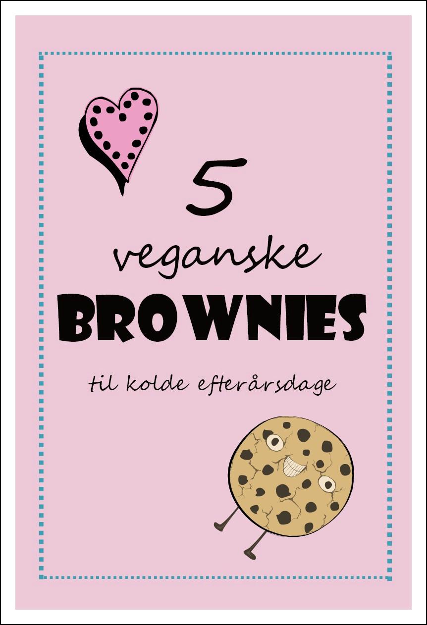 5 veganske brownies