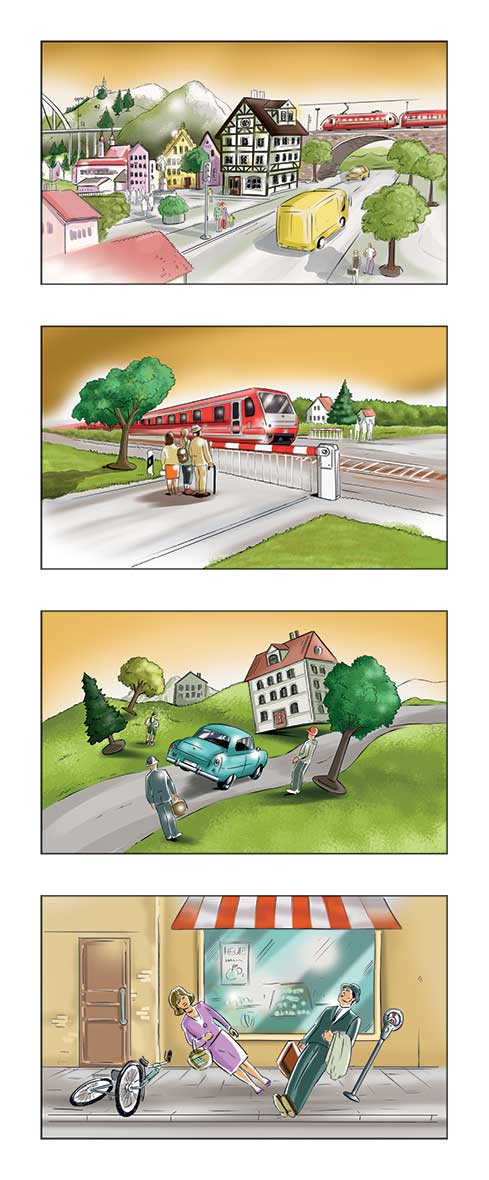 Storyboard-Illustration