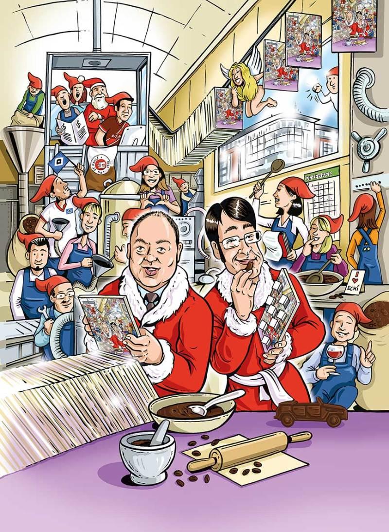 Humor-Illustration-Weihnachten