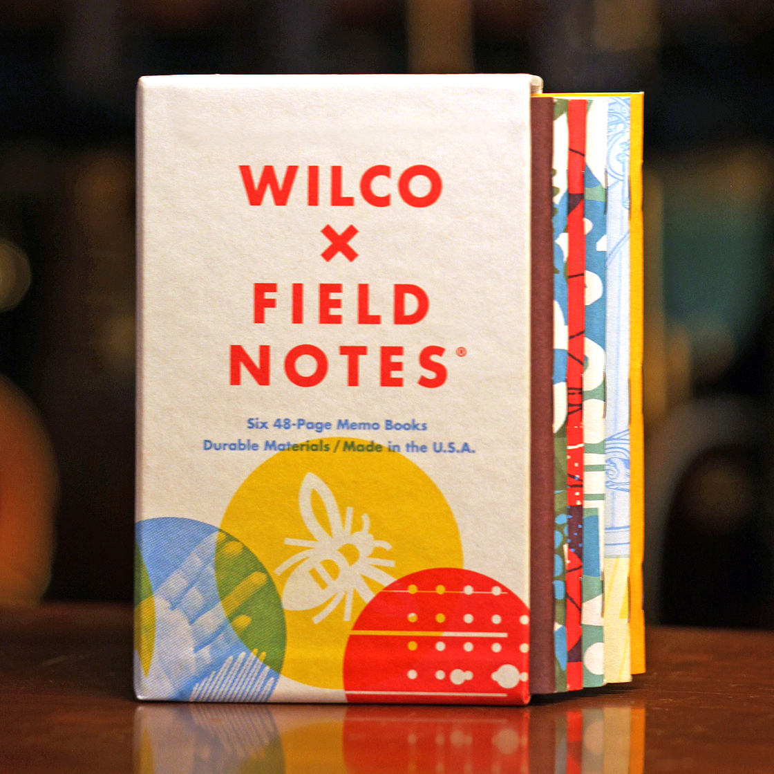 These Field Notes x Wilco notebooks are not trying to break your heart